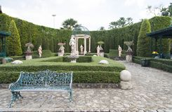 Beautiful Italian park. The beautiful Italian park waits for the visitors Royalty Free Stock Photo