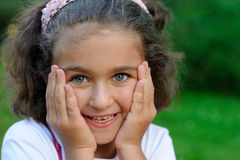 Beautiful ittle girl Stock Images