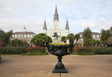 Beautiful Jackson square in New Orleans Stock Photo