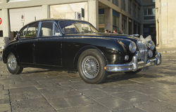 Beautiful jaguar mk2,vintage car Stock Photography