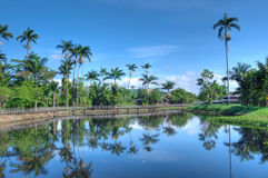 Beautiful Jamaican landscape Stock Photo