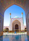 Beautiful Jame Abbasi mosque (Imam mosque) Iran. Beautiful Jame Abbasi mosque (Imam mosque) , Esfahan, Isfahan, Iran Royalty Free Stock Photos