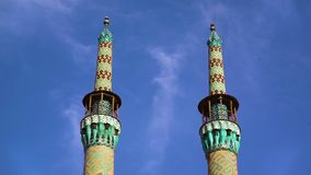 Beautiful Jameh Mosque stock video footage