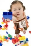 Beautiful Japanese American Two Year Old Girl Royalty Free Stock Photo