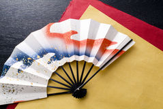 Beautiful Japanese fan Stock Photos
