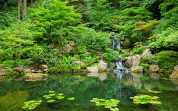 Beautiful Japanese Garden Royalty Free Stock Images