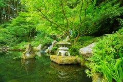 Beautiful Japanese Garden Stock Photos