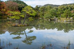 Beautiful Japanese garden in autumn of Japan Royalty Free Stock Photo