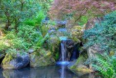 Beautiful Japanese Garden in Portland, Oregon. Beautiful Japanese Garden in Portland Oregon USA stock image