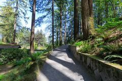 Beautiful Japanese Garden in Portland, Oregon. Beautiful Japanese Garden in Portland Oregon USA royalty free stock image