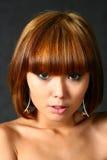 Beautiful Japanese Girl Royalty Free Stock Photography
