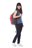 Beautiful Japanese teenager school student girl Royalty Free Stock Photo