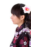 Beautiful japanese woman Royalty Free Stock Image