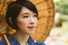 Beautiful Japanese woman Royalty Free Stock Photos