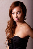 Beautiful japanese woman fashion shot Royalty Free Stock Image