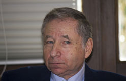 Beautiful jean todt look, expression Royalty Free Stock Photo