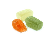 Beautiful jelly sweets Royalty Free Stock Photo