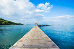 Beautiful Jetty Stock Image
