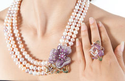 Beautiful jewel Stock Images
