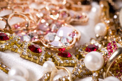 Beautiful jewelry Royalty Free Stock Images