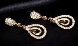 Beautiful jewelry on background Stock Photography