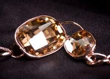 Beautiful jewelry on background Stock Image