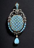 Beautiful jewelry on background Royalty Free Stock Image