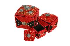 Beautiful jewelry box Stock Photography