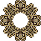 Beautiful jewelry frame, applique rhinestones. Stock Image