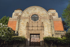 Beautiful Jewish Synagogue Royalty Free Stock Photo
