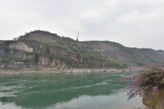 Beautiful Jinsha river landscape Royalty Free Stock Photo