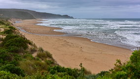 Beautiful Johanna Beach in Victoria Stock Photos