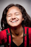 Beautiful joyful Indian girl Stock Photography