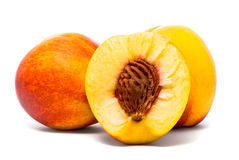 Beautiful Juicy Nectarines Stock Photography