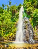 Beautiful Kaeng Nyui Waterfalls. Laos landscape. Royalty Free Stock Photo