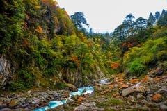 Beautiful Kangding Stock Photography