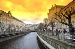 Beautiful Karlovy Vary Stock Image