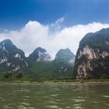 Beautiful karst hills in guilin Stock Photo
