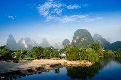 Beautiful Karst mountain landscape Royalty Free Stock Photo