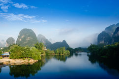 Beautiful Karst mountain landscape Royalty Free Stock Image