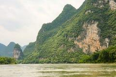 Beautiful karst mountains li river Stock Photography