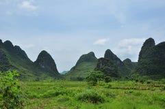 Beautiful karst rural scenery at Guilin, China Stock Photography