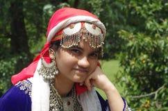 Beautiful Kashmiri Girl-1 Royalty Free Stock Image