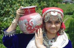 Beautiful Kashmiri Girl-4 Royalty Free Stock Photography