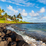Beautiful Kauai Beach Royalty Free Stock Photo