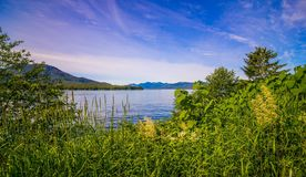 Beautiful ketchikan alaska mountain range landscapes. Beautiful ketchikan alaska mountain range  landscapes Stock Photo