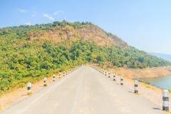 Beautiful of Khun Dan Prakarnchon Dam Stock Photography