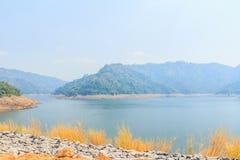 Beautiful of Khun Dan Prakarnchon Dam Stock Images