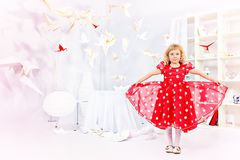Beautiful kid Stock Images