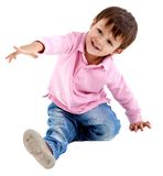 Beautiful kid smiling Stock Photography